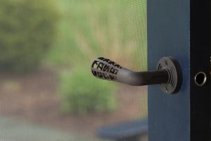 Custom Door Handles, screen left