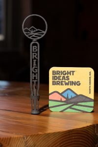 Knockout Knobs Bright Idea Beer Tap