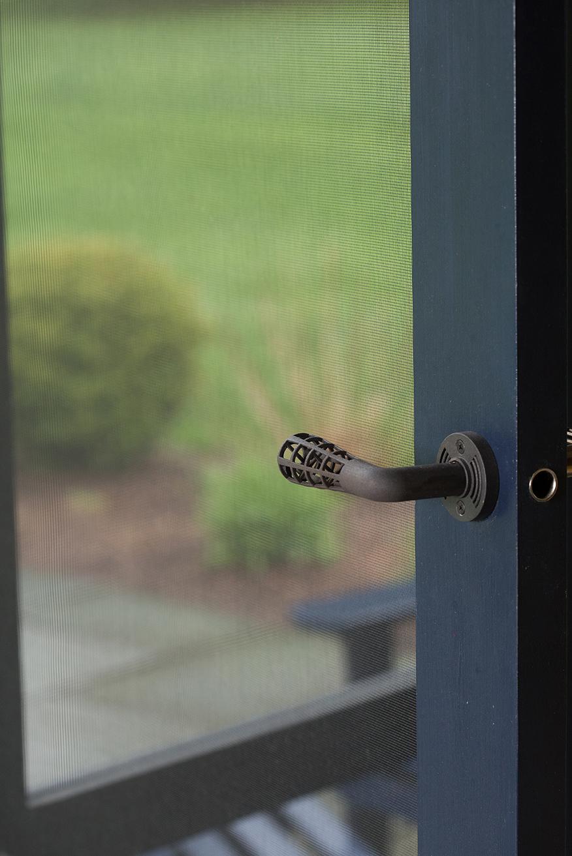 Custom Door Handles, screen door handle