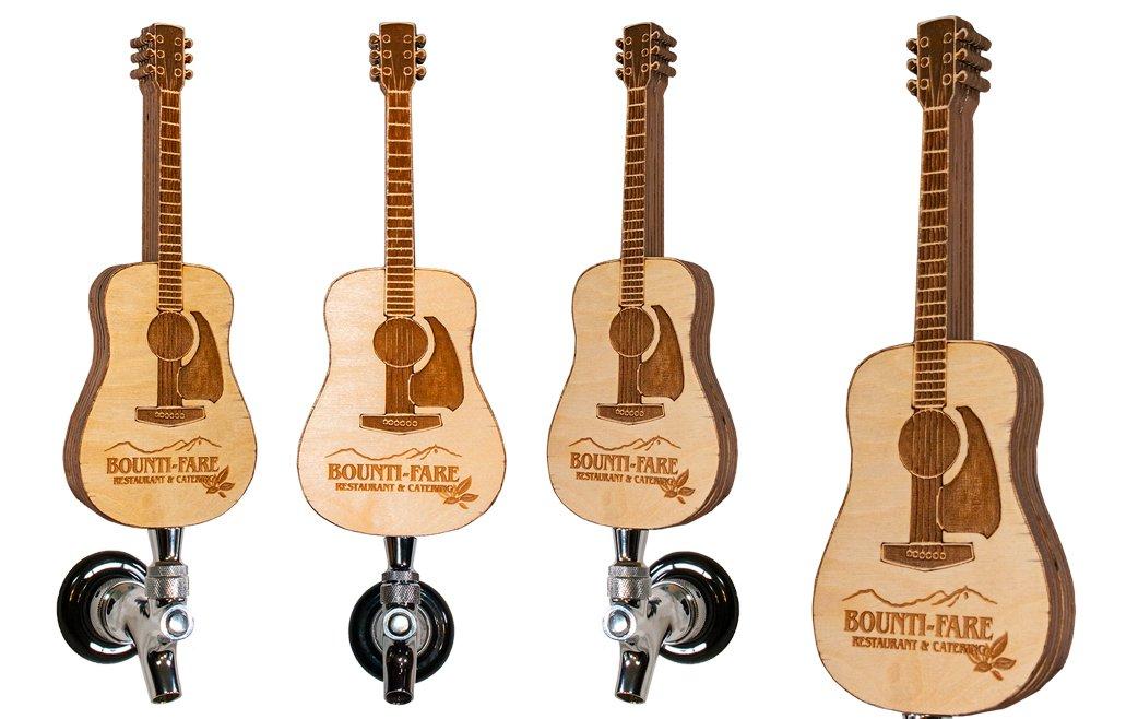 Bounty Fare Wood Guitar Tap Handle